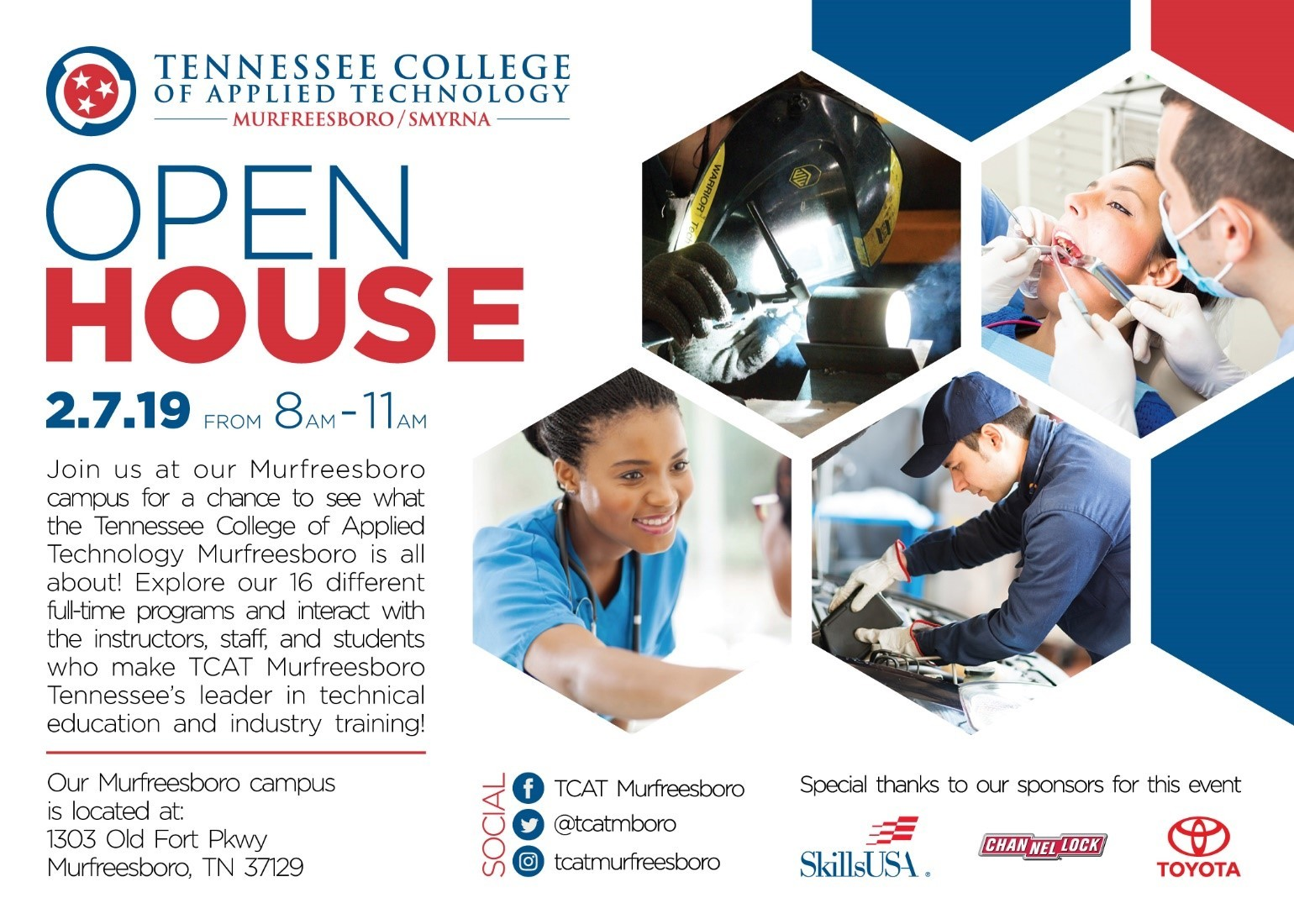 Open House 2/7/19